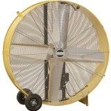 48 Inch Q Standard Open Motor Belt-Drive Drum Fan