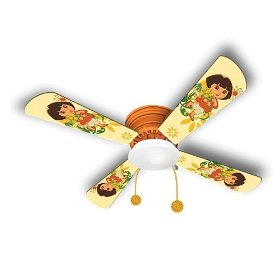 Dora Hugger Ceiling Fan