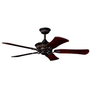 "52"" Heather Ceiling Fan in Mission Copper"