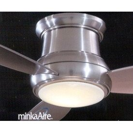 Minka Aire 44-inch Concept II Flush Mount White Ceiling Fan