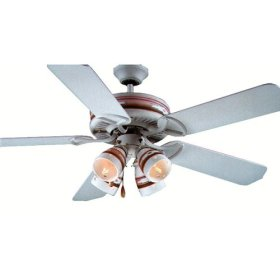 Litex Coquillage 52-Inch Five-Blade Ceiling Fan