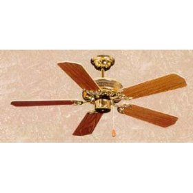Westwind Ceiling Fan - 42 in. Polished Brass