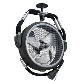 Hunter Jetstream Garage Fan 18""