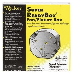 Reiker Fansafe Ceiling Fan Installation Kit