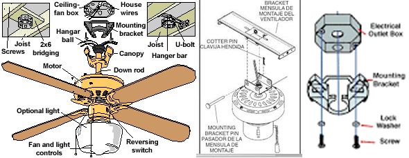 ceiling fan parts - blades, blade arms, capacitors & more Ceiling Fan Arms